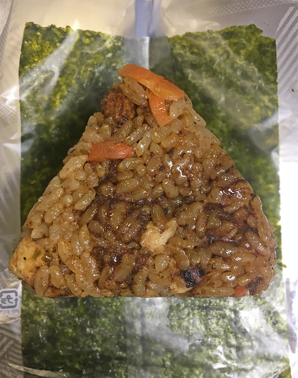 ソースベチャァ〜のおにぎり