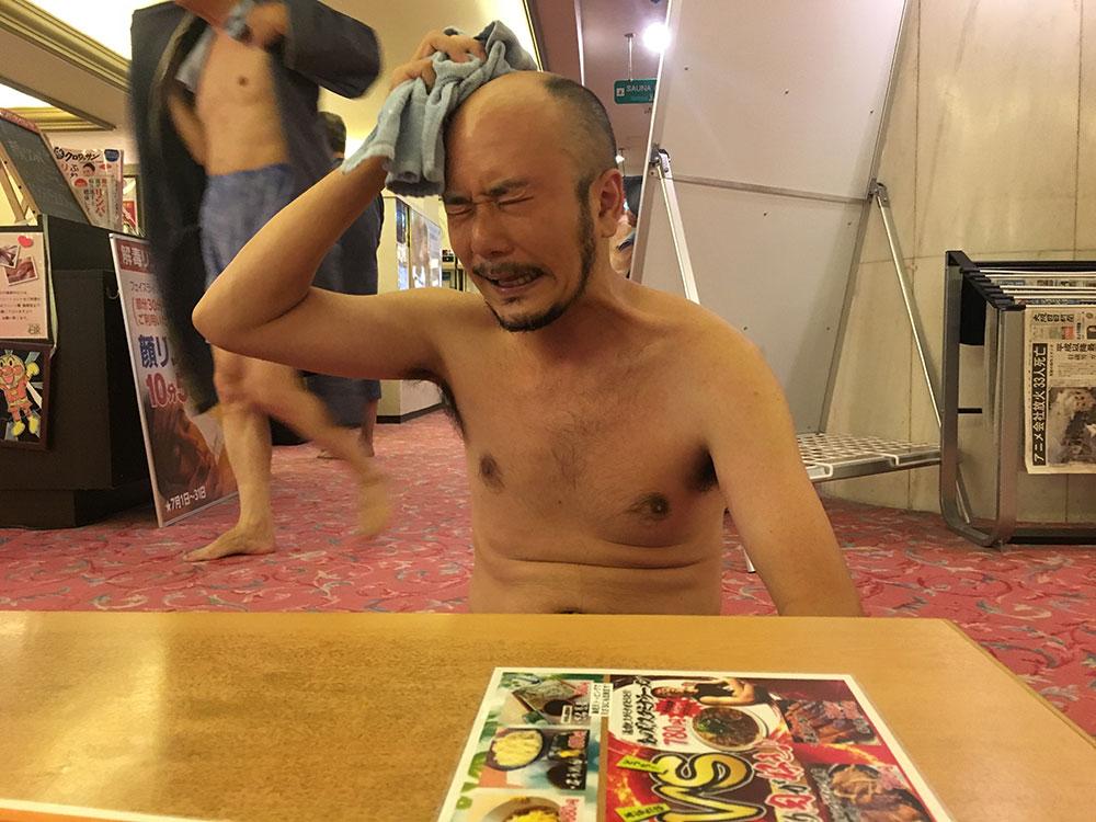 ロックオン柳田とお風呂
