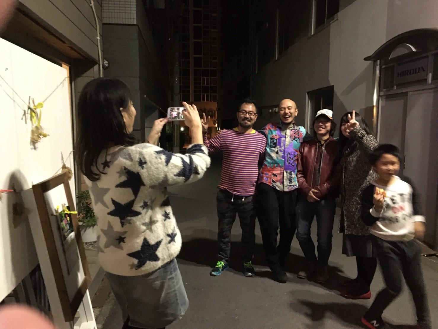 ROOTS FACTORY阪井さん、橋本せーし、おりえちゃんとロックオン