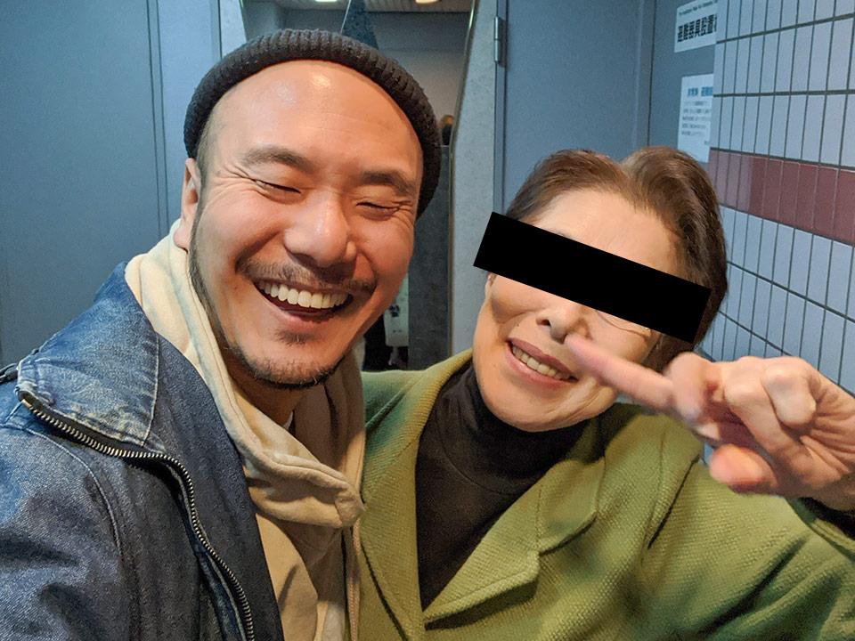 ロックオン柳田とおばさま