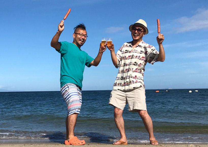 淡路島で乾杯!